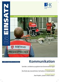 IM EINSATZ 04/2016 - Im Notfall richtig kommunizieren