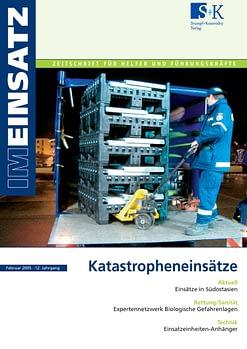 IM EINSATZ 01/2005 - Katastropheneinsätze
