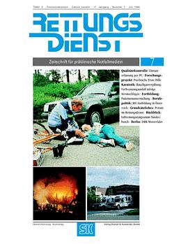 RETTUNGSDIENST 07/1994