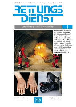 RETTUNGSDIENST 01/1997