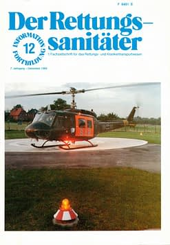 Der Rettungssanitäter 12/1984