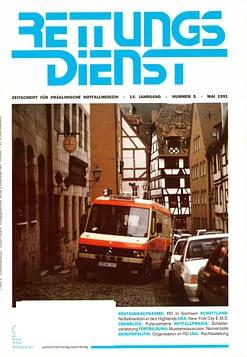 RETTUNGSDIENST 05/1991