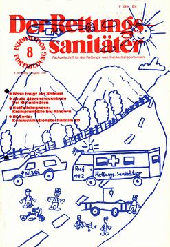 Der Rettungssanitäter 08/1981