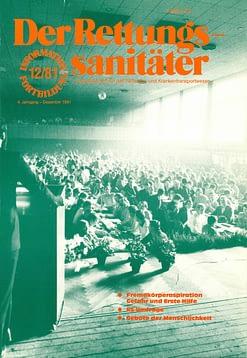 Der Rettungssanitäter 12/1981