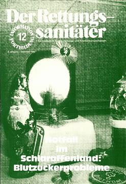 Der Rettungssanitäter 12/1983