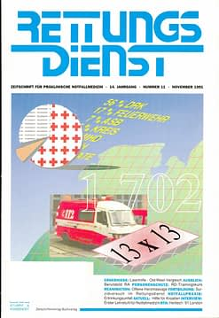 RETTUNGSDIENST 11/1991