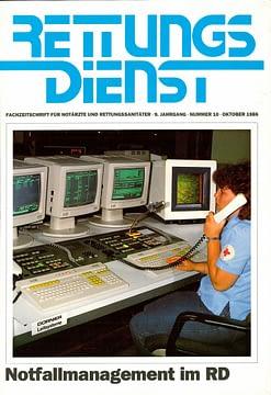 RETTUNGSDIENST 10/1986