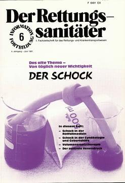 Der Rettungssanitäter 06/1981
