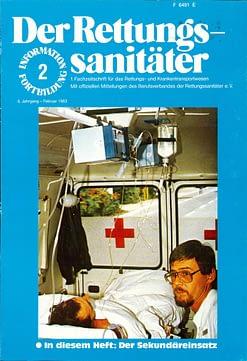 Der Rettungssanitäter 02/1983