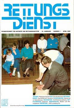 RETTUNGSDIENST 04/1989