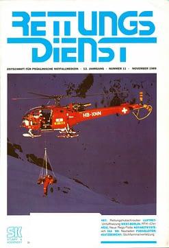 RETTUNGSDIENST 11/1989