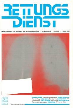 RETTUNGSDIENST 06/1989