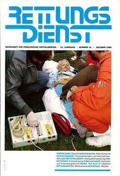 RETTUNGSDIENST 10/1989