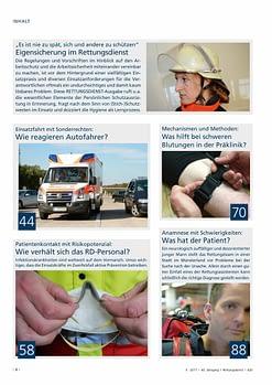 Rettungsdienst 5/2017 - Eigensicherung