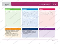 Antwortkarte zur invasiven Maßnahme Tracheostoma