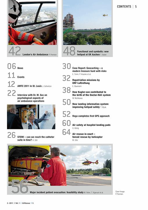 AirRescue Magazine - FUTURE HELIPADS