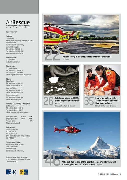 AirRescue Magazine - SAFETY