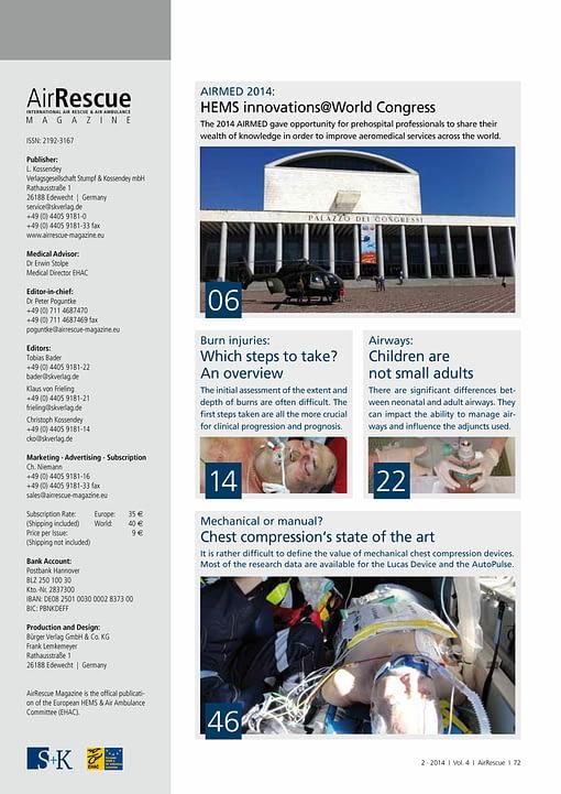 AirRescue Magazine - MEDICAL CARE 2