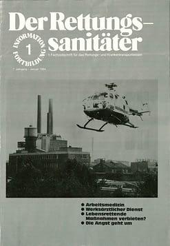 Der Rettungssanitäter 01/1984