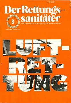 Der Rettungssanitäter 08/1980
