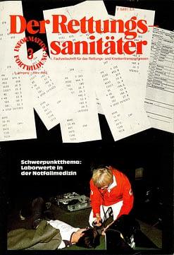 Der Rettungssanitäter 03/1982