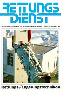 RETTUNGSDIENST 11/1986