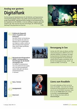 IM EINSATZ 05/2008 - Erste Hilfe lehren