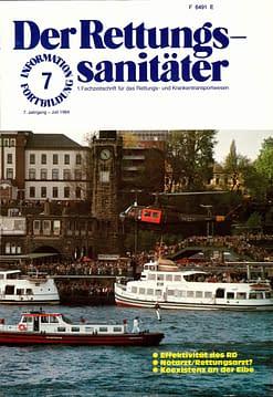 Der Rettungssanitäter 07/1984