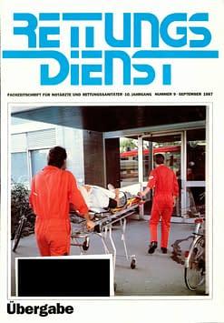 RETTUNGSDIENST 09/1987