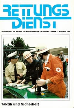 RETTUNGSDIENST 09/1988