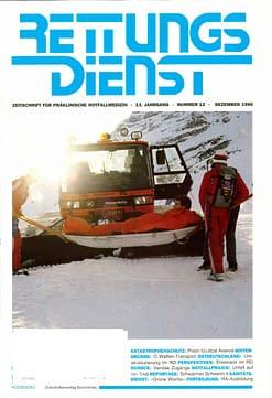 RETTUNGSDIENST 12/1990