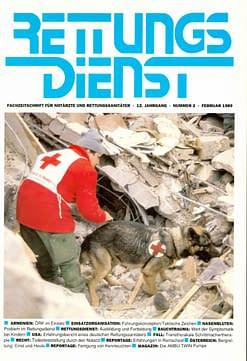 RETTUNGSDIENST 02/1989