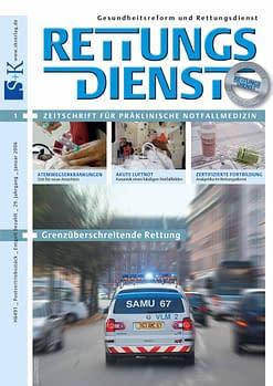 RETTUNGSDIENST 01/2006