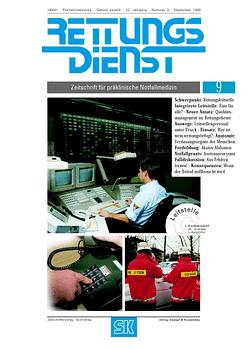 RETTUNGSDIENST 09/1999