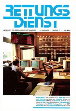RETTUNGSDIENST 07/1990