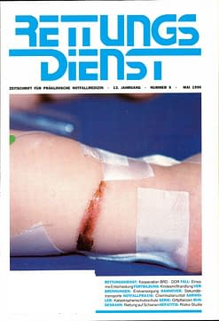RETTUNGSDIENST 05/1990