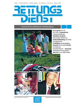 RETTUNGSDIENST 02/1995