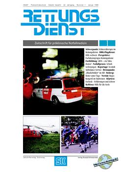 RETTUNGSDIENST 01/1999