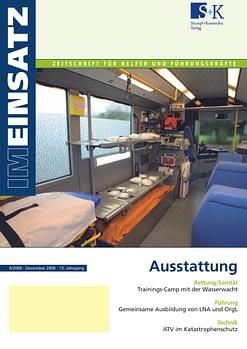 IM EINSATZ 06/2006 - Ausstattung