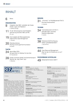 BOS LEITSTELLE AKTUELL 4/2017 - Gatekeeping