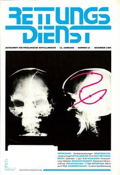 RETTUNGSDIENST 12/1989