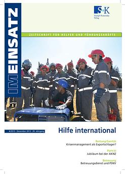 IM EINSATZ 05/2013 - Strahlennotfälle