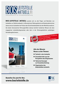 BOS LEITSTELLE AKTUELL 2/2015 - Demografie in Stadt und Land