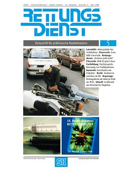 RETTUNGSDIENST 05/1996
