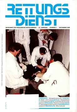 RETTUNGSDIENST 09/1989