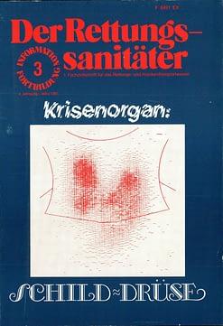 Der Rettungssanitäter 03/1981