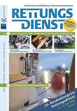 RETTUNGSDIENST 04/2007