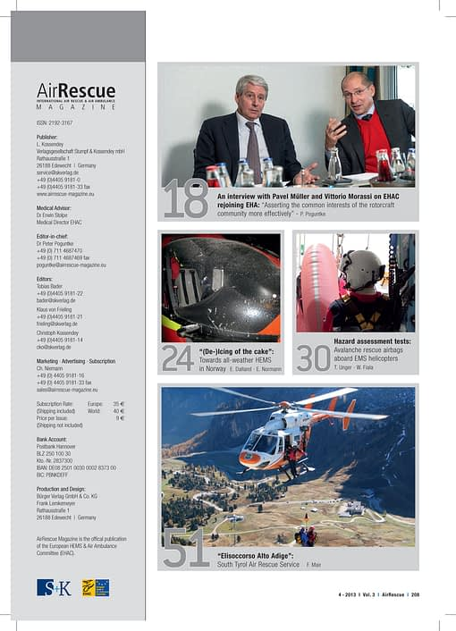 AirRescue Magazine - INNOVATIONS