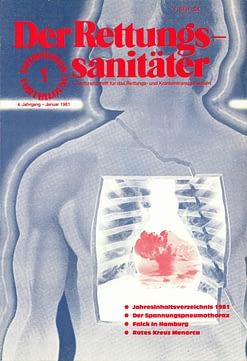 Der Rettungssanitäter 01/1981