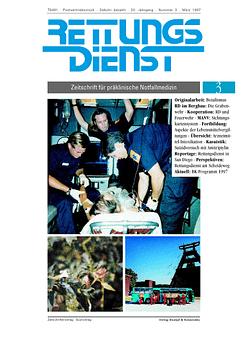 RETTUNGSDIENST 03/1997